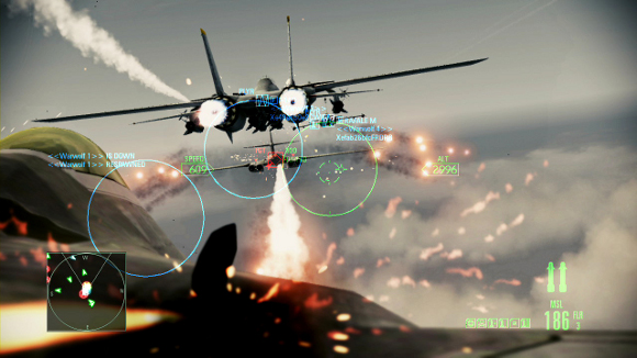 Ace Combat Assault Horizon multijugador