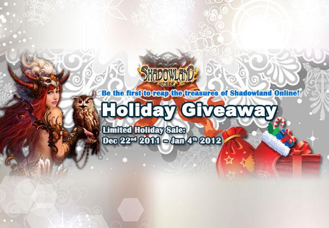 Pulsa en la imagen para verla en tamaño completoNombre: Shadowland Online Holiday Giveaway.jpgVisitas: 6736Tamaño: 75.7 KBID: 3887