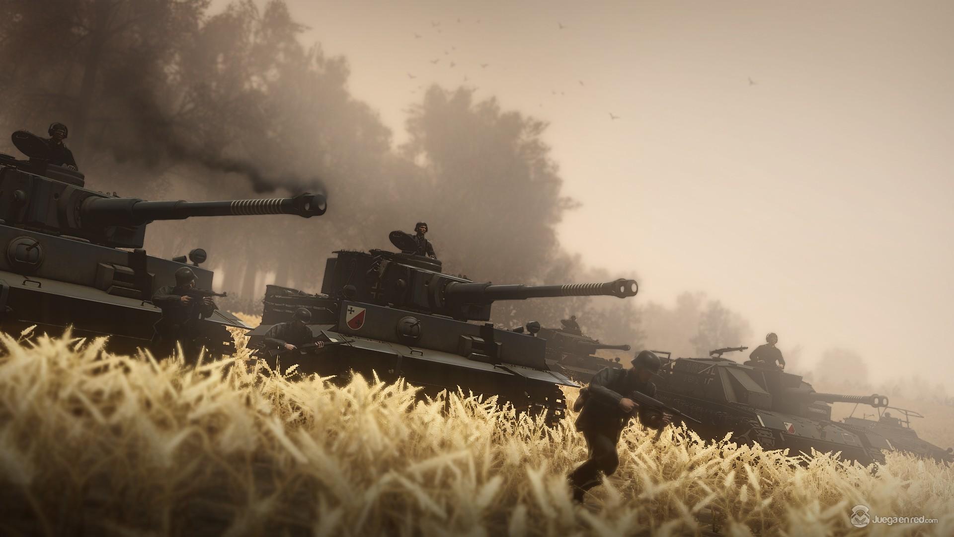 Pulsa en la imagen para verla en tamaño completoNombre: 9556Heroes_And_Generals_Tiger_Tank_Attack.jpgVisitas: 3177Tamaño: 261.8 KBID: 6251