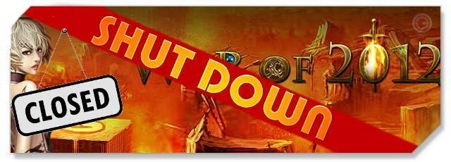 War of 2012 - f2p - shut down