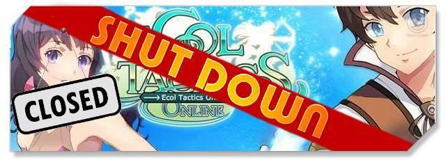 Ecol Tactics Online - F2P Network - Shutdown logo
