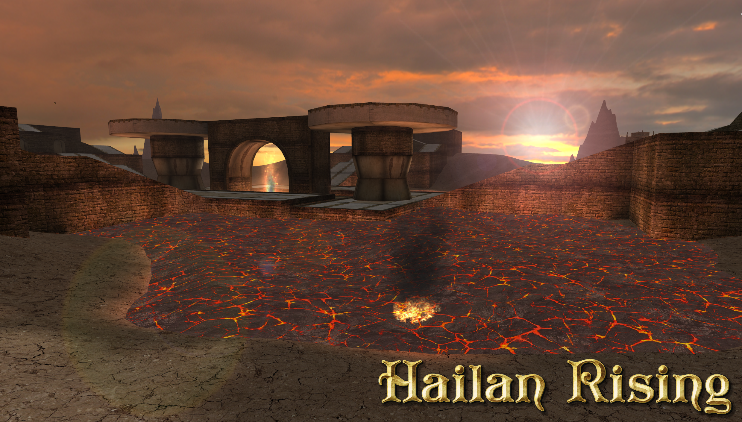 Hailan Rising wallpaper 1