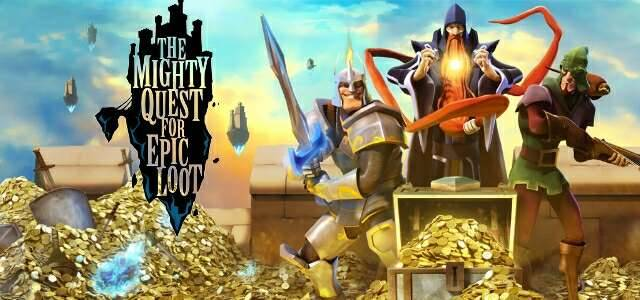The mighty Quest for epic loot - logo640