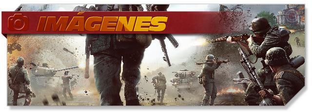 Heroes and Generals - Screenshots headlogo - ES