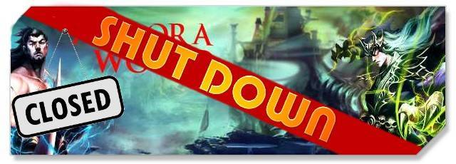 The Aurora World - Logo - Shut Down - F2P Network