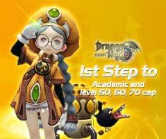 2013 08 08 Dragon Nest Europe - 1st Step to Academic and level 50-70 cap