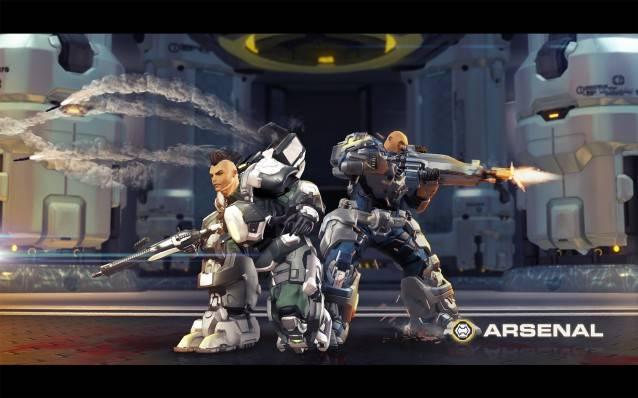 GC 2013 - New Arsenal Battleframe Promo Wallpaper