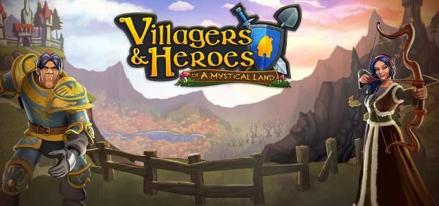 Villagers & Heroes - logo640