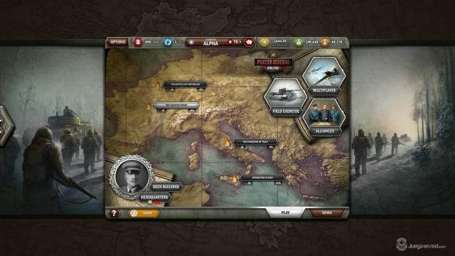 Panzer General Online shot 2