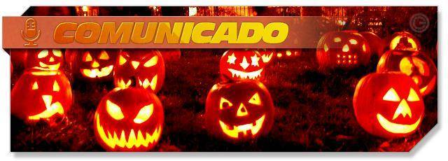 Happy Halloween message - ES