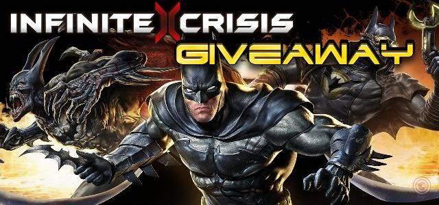 Infinite Crisis giveaway head