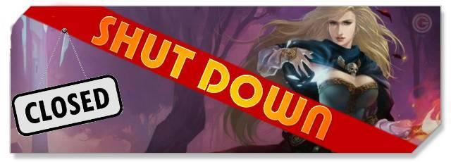 Castlot - F2P Network - Shutdown logo