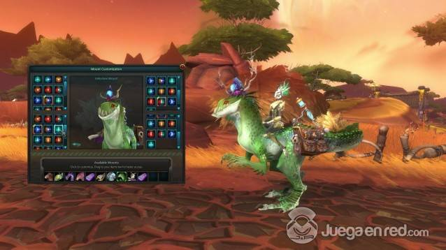 WildStar_Customisation_-_Mounts_-_Velocirex_Mount