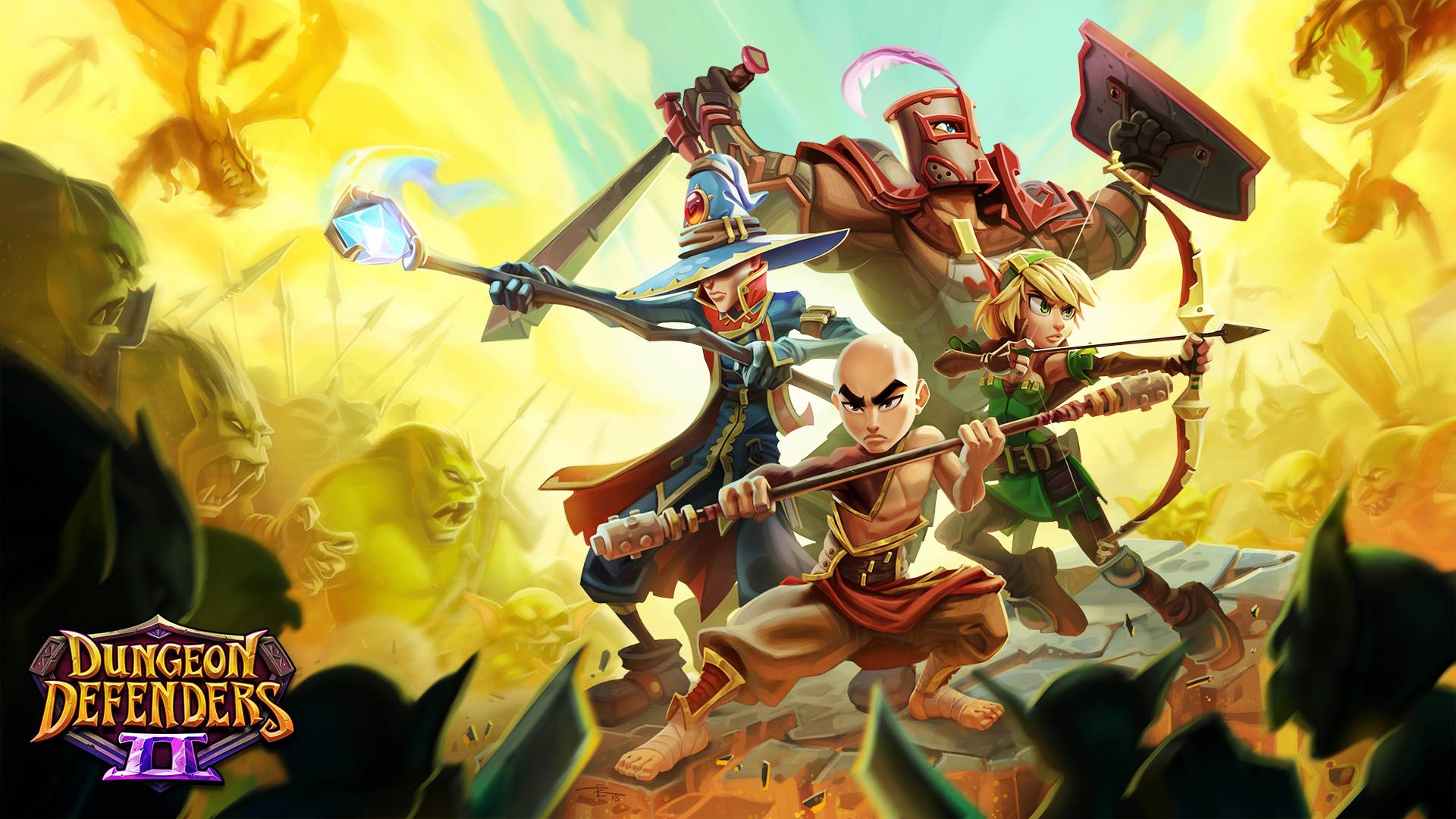 dungeon defenders 2 wallpaper