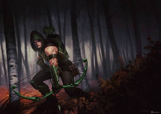 Infinite Crisis_Green Arrow
