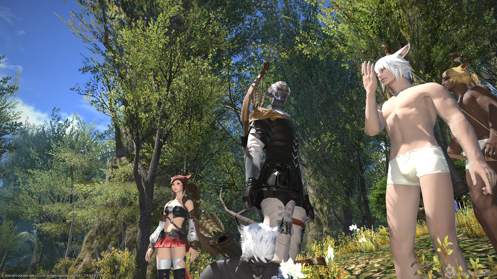 Final Fantasy XIV: A Realm Reborn screenshot 6