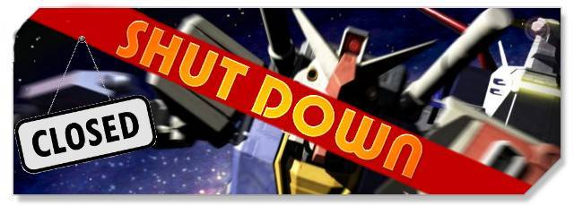 SD Gundam - F2P Network Shutdown headlogo