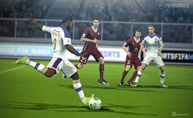 EA Sports FIFA World screenshot 1