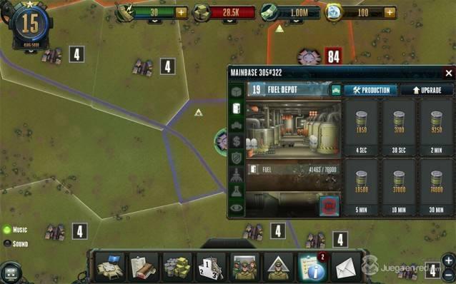 Rising Generals screenshot 2