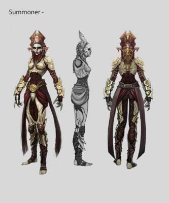nosgoth artwork summoner