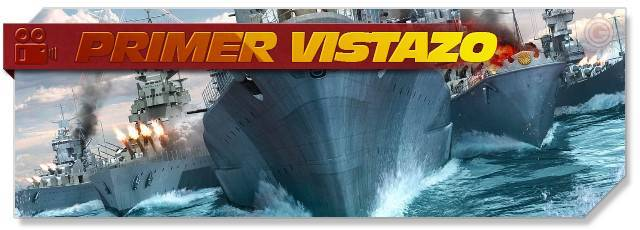 World of Warships - First Look headlogo - ES