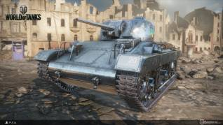 World of tanks Ps4 beta JeR4