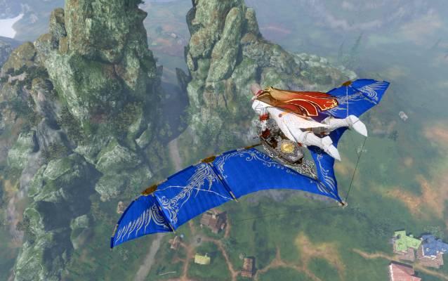 ArcheAge Lapis Fae Wing Glinder screenshot