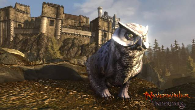 Neverwinter Owlbear giveaway mount screenshot
