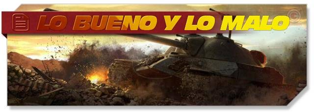 World of Tanks: lo bueno y lo malo
