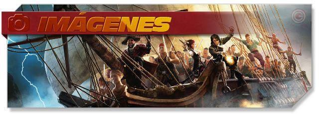Seas of Gold - Screenshots headlogo - ES