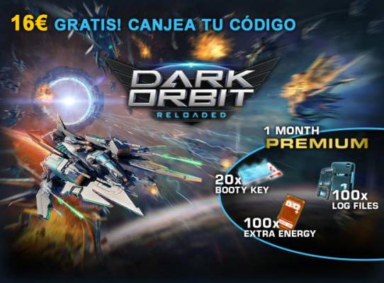 Dark Orbit Giveaway image - ES
