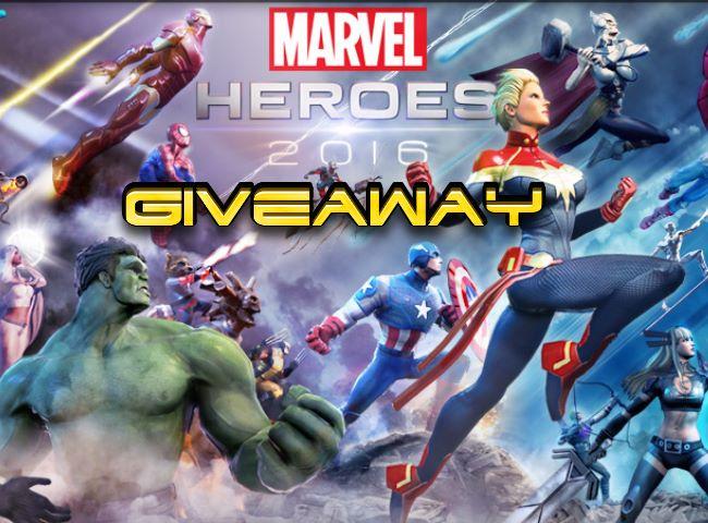 Marvel Heroes 2016 - Giveaway - Gameitems image