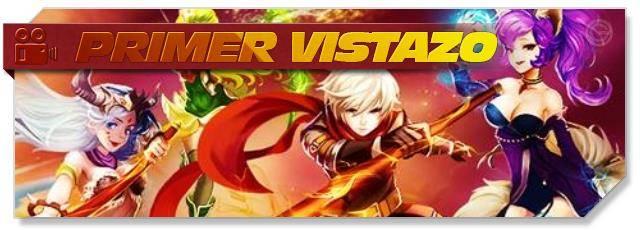 Crystal Saga II - First Look headlogo - ES