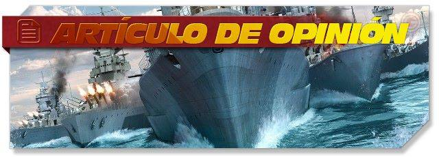 World of Warships - op-ed headlogo - ES