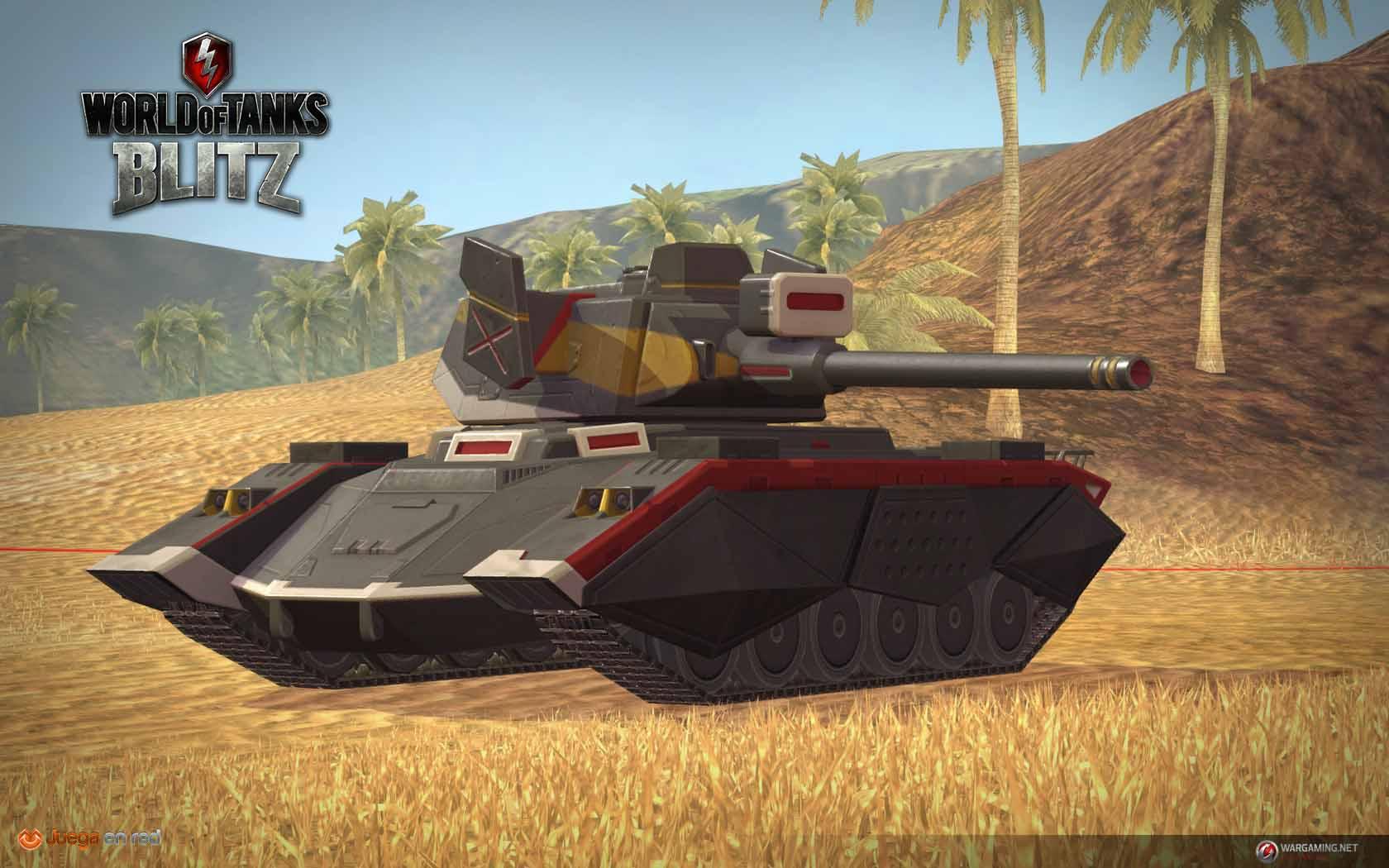 El Primer Tanque Mecha De World Of Tanks Blitz