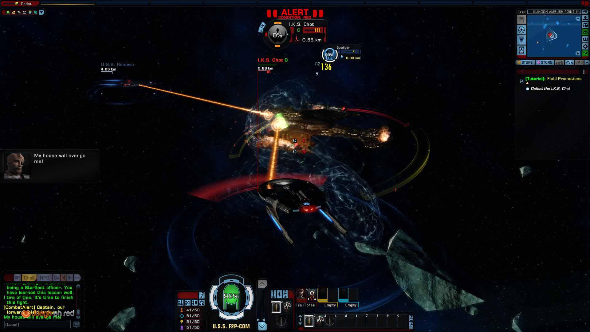 Primeras impresiones de Star Trek Online MMO RPG Gratuito del Espacio