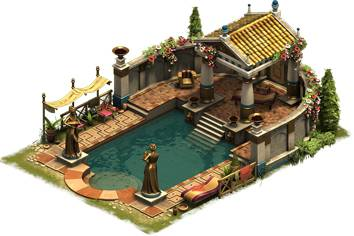 Forge of Empires Baños Ornamentados