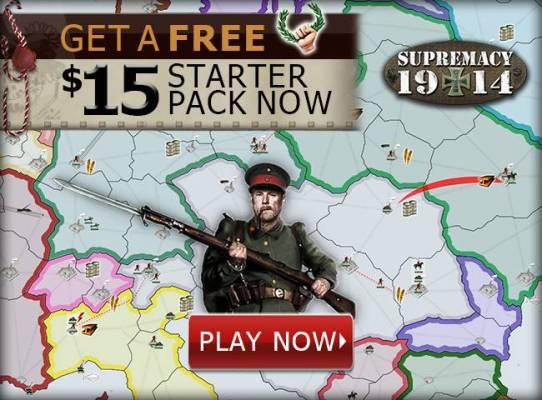 Supremacy 1914 gana 15 Euros en el juego