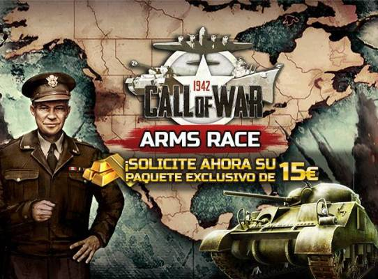 Call of War Paquete de Inicio Gratuito - Dos promociones gratuitas para Call of War