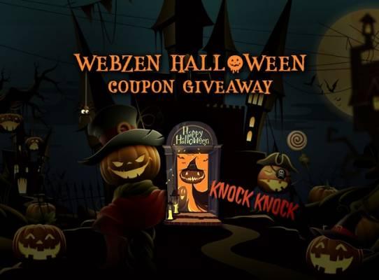 Celebramos Halloween con Webzen