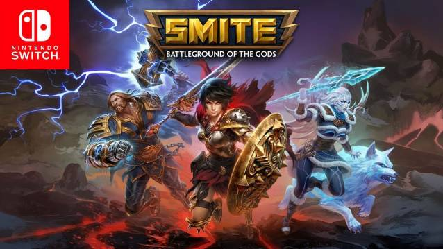 SMITE ya está disponible en Nintendo Switch