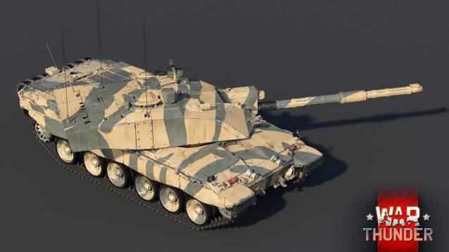 War Thunder Challenger 2 b