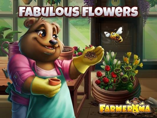 Farmerama Flores Fabulosas
