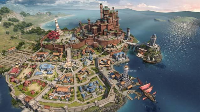 Game of Thrones Winter is Coming Main City - Juego de Tronos Online