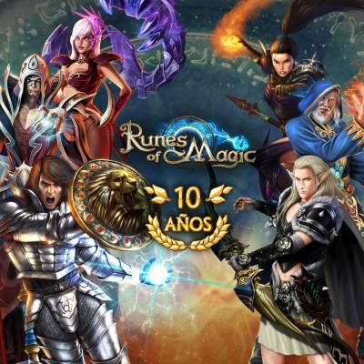 Runewaker y Gameforge celebran 10 años de Runes of Magic