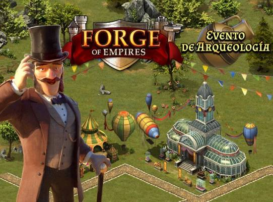 Forge of Empires evento de Arqueología