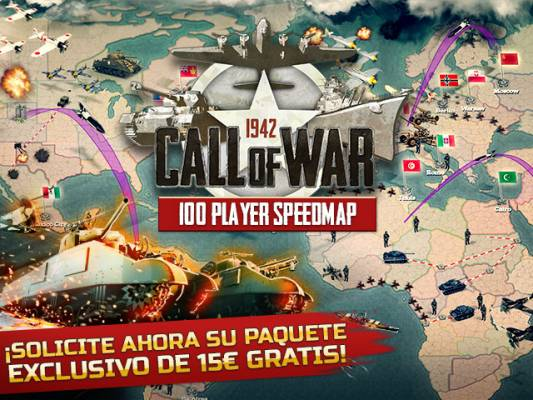 El mes premium de Call of War en JuegaEnRed