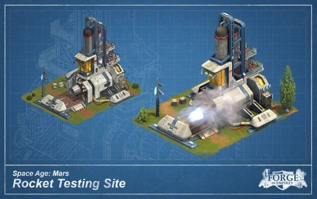 FoE Marte Rocket Testing Site