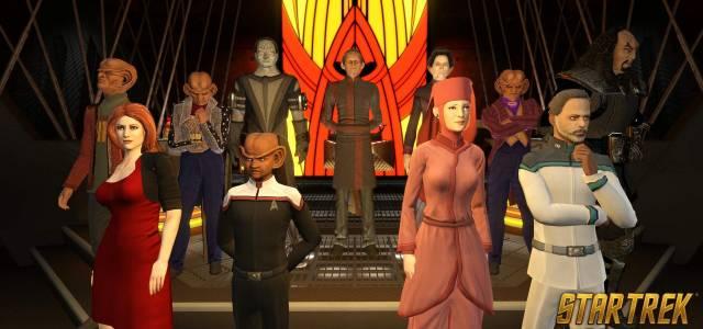 Star Trek Online celebra su 10º aniversario con dos personajes icónicos de la saga