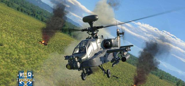 Helicópteros Apache Aparecen en War Thunder